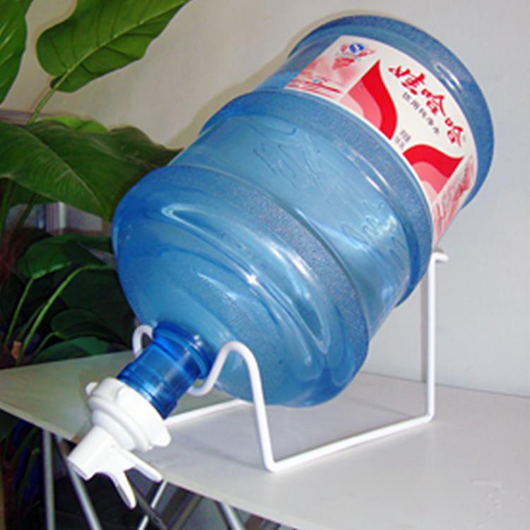 白色桶装水支架的使用说明